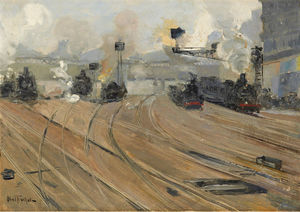 Wikioo.org - The Encyclopedia of Fine Arts - Artist, Painter  Louis Abel-Truchet