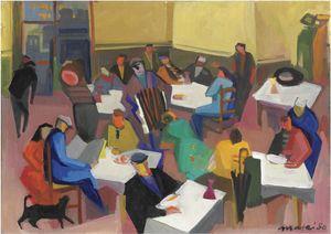 Wikioo.org - The Encyclopedia of Fine Arts - Artist, Painter  Mario Mafai