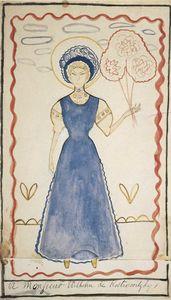 Femme à la robe bleue (1907)