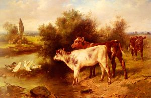 Wikioo.org - The Encyclopedia of Fine Arts - Artist, Painter  Walter Hunt