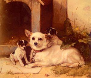 Wikioo.org - The Encyclopedia of Fine Arts - Artist, Painter  Walter Hunt