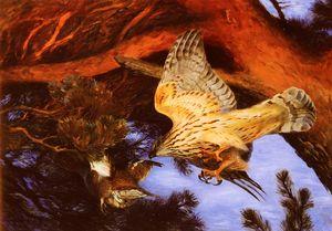Wikioo.org - The Encyclopedia of Fine Arts - Artist, Painter  Bruno Liljefors