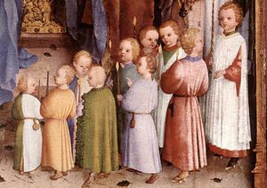 Presentation of Christ in the Temple (detail)