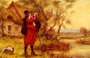Wikioo.org - The Encyclopedia of Fine Arts - Artist, Painter  Frank Moss Bennett