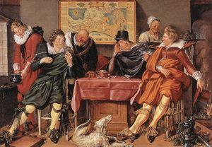 Wikioo.org - The Encyclopedia of Fine Arts - Artist, Painter  Willem Buytewech