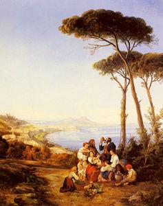 Wikioo.org - The Encyclopedia of Fine Arts - Artist, Painter  Consalvo Carelli