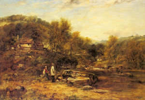 Wikioo.org - The Encyclopedia of Fine Arts - Artist, Painter  Frederick William Watts