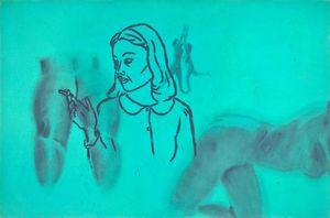 Wikioo.org - The Encyclopedia of Fine Arts - Artist, Painter  David Salle
