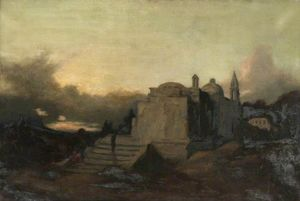The convent, twilight