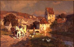Wikioo.org - The Encyclopedia of Fine Arts - Artist, Painter  Wilhelm Velten