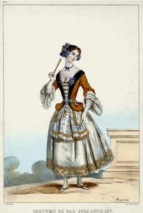 costume de bal sous louis XIV