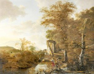 Landscape with an Arched Gateway