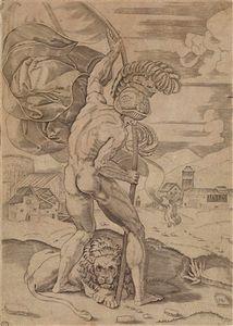 Wikioo.org – La Enciclopedia de las Bellas Artes - Artista, Pintor Agostino Dei Musi