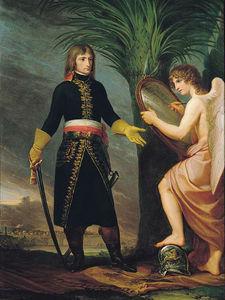 Il generale Bonaparte e il genio della Vittoria, peinture d'Andrea Appiani (1796)