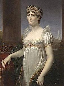 Portrait de l'Impératrice Joséphine (1763-1814), en costume de Reine d'Italie