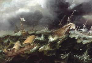 Ships in Stormy Seas