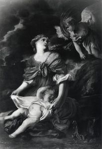 Angel Appearing to Hagar