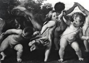 Dancing putti