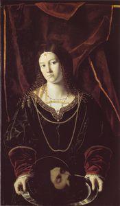 Salome with the tesa del battista