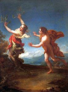 Apollo and Daphne.