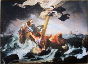 Sainte Catherine Thomas saves a ship sinking