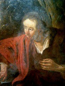 Christ and the Samaritan woman (detail).2