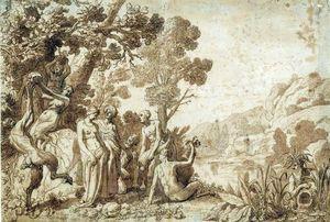 Baco y Ariadna en Naxos.