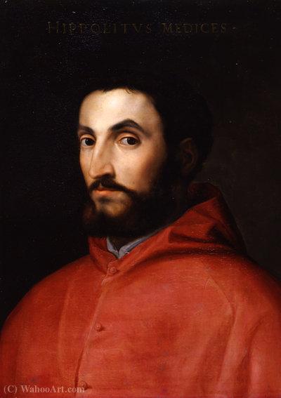 Wikioo.org – La Enciclopedia de las Bellas Artes - Pintura, Obras de arte de Cristofano Di Papi Dell Altissimo - Hipólito de Médicis