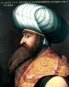 Retrato de Bayaceto I.