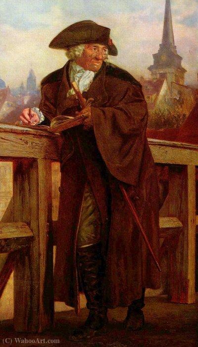 Wikioo.org - The Encyclopedia of Fine Arts - Painting, Artwork by Daniel Nikolaus Chodowiecki - On the Jannowitzbrücke