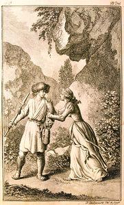 Illustration from Johannes Ewalds The Death of Balder