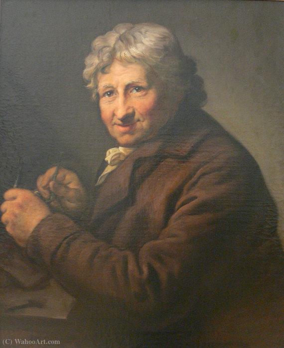Wikioo.org - The Encyclopedia of Fine Arts - Painting, Artwork by Daniel Nikolaus Chodowiecki - Portrait of Daniel Chodowiecki