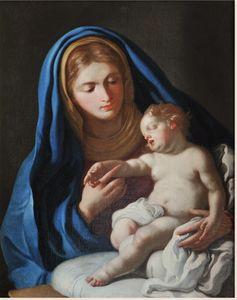 Madonna with baby Jesu