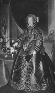 Portrait of Maria Anna of Spain.