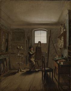 The Painter Gerhard von Kügelgen in his Studio