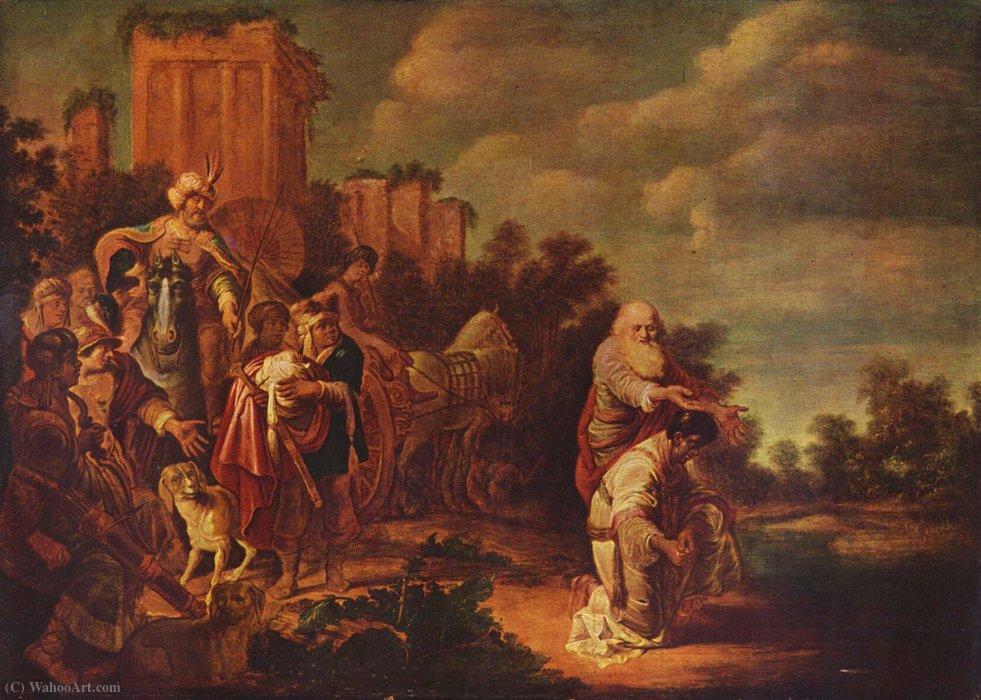 Wikioo.org - The Encyclopedia of Fine Arts - Painting, Artwork by Gerrit Claesz Bleker - Philip baptizes the Moor