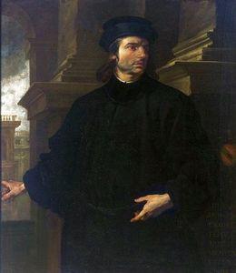 Portrait of Giovanni Battista Panese.