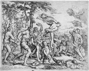 Bacchus encuentra Ariadna de Naxos