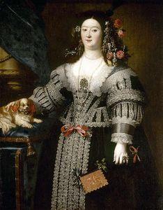 Portrait of Maria Farnese