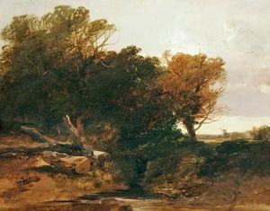 Grove scene - Henry Bright