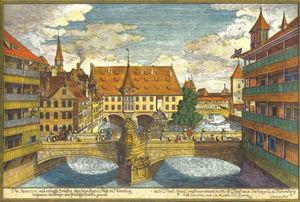 Bridge over the Pegnitz