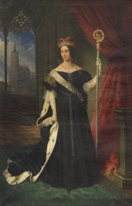 Portrait of Maria Theresa of Austria, Queen of the Two Sicilies