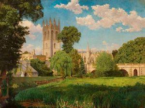 Magdalen Bridge and College