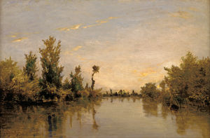 Wikioo.org - The Encyclopedia of Fine Arts - Artist, Painter  Karl Pierre Daubigny