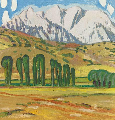 WikiOO.org - אנציקלופדיה לאמנויות יפות - ציור, יצירות אמנות Konstantinos Maleas - Penthouse