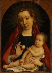 The Virgin and Child - Michel Sittow (Master Michiel)