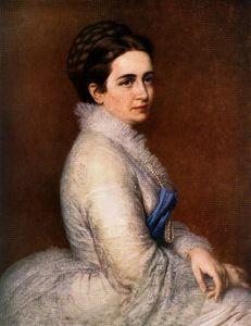 Portrait of Bittó Istvánné