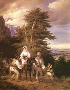 Romanian Family Going to the Fair