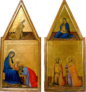 The Annunciation & Adoration of the Magi