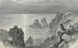 Illustration from Black's Guide to the Channel Islands